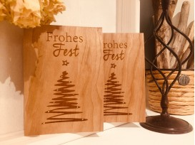 Weihnachtskarten Motiv Weihnachtsbaum