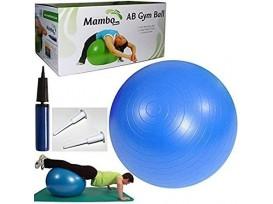 Mambo Max Gymnastik Ball, 75cm blau